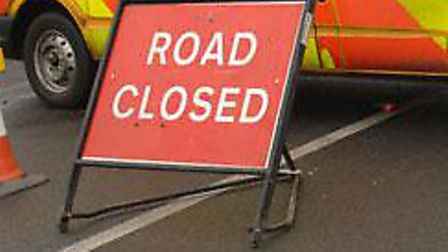 A lorry and car crashed in Mildenhall.