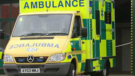 Cyclist hurt in collision with car