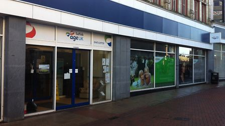 The Age UK store in Carr Street was closed after an overnight raid.