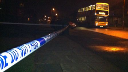 A man in his 60s remains in hospital after he was allegedly assaulted on a bus in Defoe Road, Ipswic