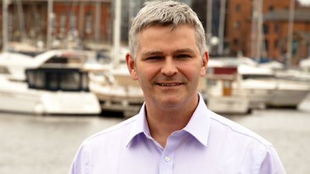 Simon Mead, who has been appointed chief executive at the Eastern Enterprise Hub