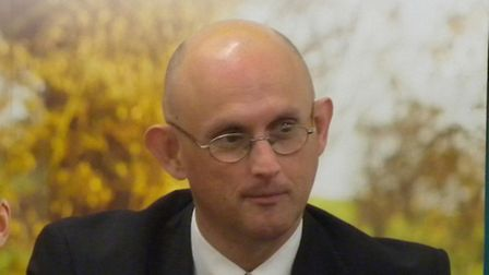 George Dunn, Chief Executive of the Tenant Farmers AssociationEADT 29.1.11