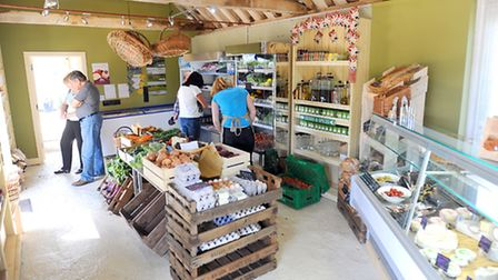 Country Life feature on Tim Freathy and Mark Leadbeater, who have just opened Depden Farm Shop.