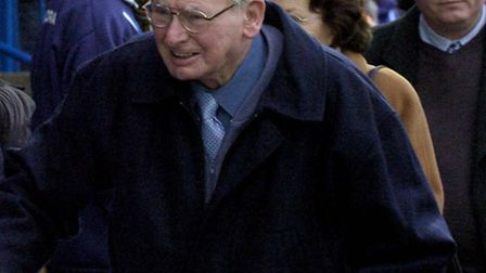 Dick Graham, pictured before Colchester United's game against Crystal Palace in 2007