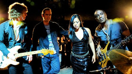 The Brand New Heavies, also visiting the town