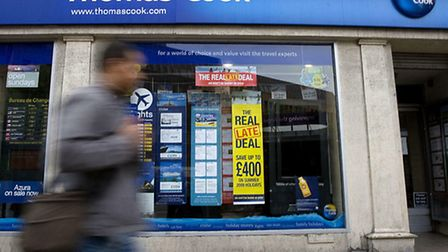A branch of travel agent Thomas Cook