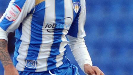 Colchester United's Billy Clifford, who is currently on loan from Chelsea