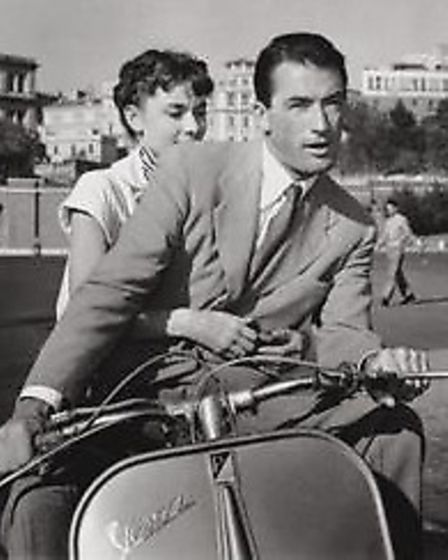 Gregory Peck and Audry Hepburn in Roman Holiday, the IFT's film for Valentine's Day