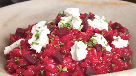 Beet It Beetroot Risotto
