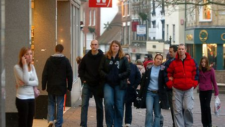 Shoppers flock to Bury
