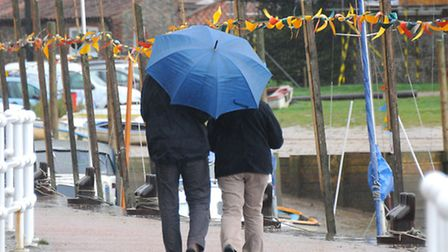 Flood warnings have been issued after heavy rainfall