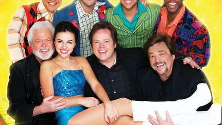 The all-star cast of Boogie Nights The 70s Musical Concert