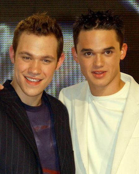 Will Young and Gareth Gates on Pop Idol