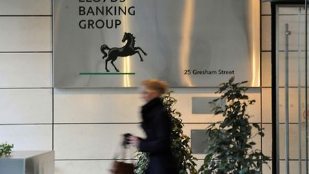 The head office of the Lloyds Banking Group in London