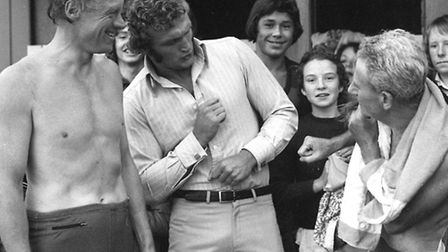 From The Archives West Boxer Joe Bugner at Bury Gala September 1973