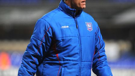 Mick McCarthy leaves the pitch after watching his Town side lose 2-0 to Watford