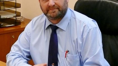 Tendring District Council leader Peter Halliday