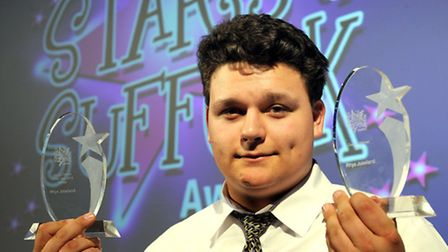 The glittering Stars of Suffolk Awards held at Suffolk New College on Friday night Young Person of t