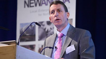 Andy Wood, chairman of the New Anglia Local Enterprise Partnership