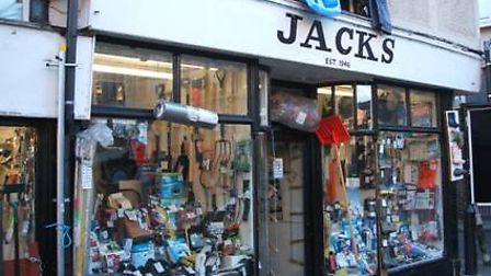 The Jacks store in St Nicholas Street, Colchester