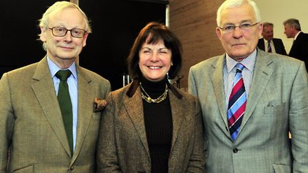 Suffolk Agricultural Associations AGM at Trinity Park, Ipswich Lord Deben, Countess of Euston, and