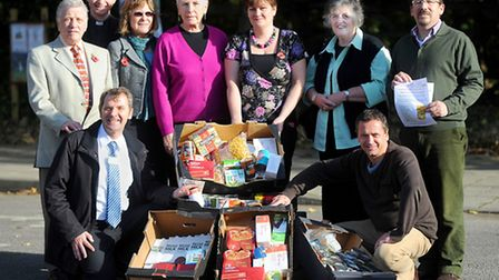 Launch of Bury food bank at Moreton Hall Community Centre.EADT 10.11.12