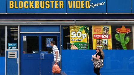 Another 164 Blockbuster stores are to clsoe, it was announced today