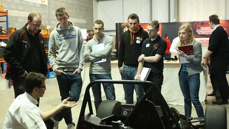 One of the Formula Student Workshops held by DC Electronics
