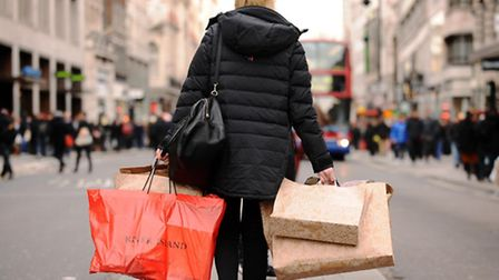 There's gloom on the high street as shock figures show a decline in sales