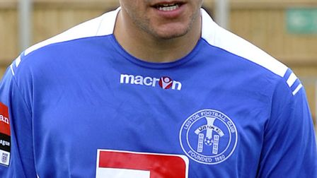 Danny Thrower, who has left Leiston and signed for Felixstowe & Walton United
