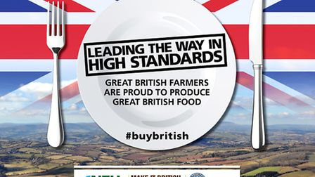 The NFU's advertising campaign this weekend has been launched in the wake of the horsemeat scandal