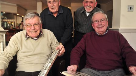 50 years since the end of National Service Stan Davey, Bernie Clarke, John Juby and Gerry Marjoram