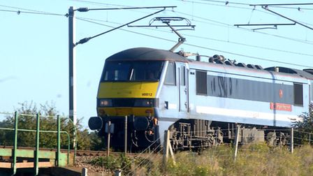 A bus service is running between Ipswich and Felixstowe due to signalling problems
