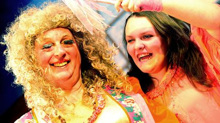 The Barton Players from Great Barton in their 35th Anniversary pantomime Adventure in Panto Land