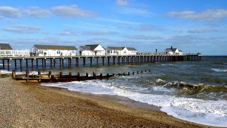 Southwold Pier, which is to be acquired by Gough Hotels