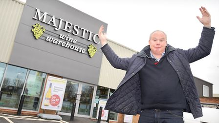 Council planning committee have told Majestic Wine to lower their sign by one metre after it failed