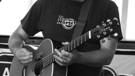 Tom Hingley coming to The Rep, Ipswich, on March 2.