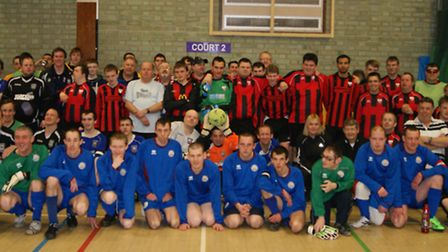 Competitiors at the Ability Counts Fun Day in Ipswich