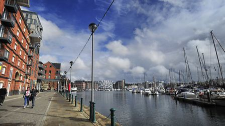 Could the new heritage centre be built at the Waterfront?