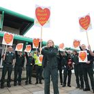 Cromer ambulance station staff who made a stand against proposed cuts to the ambulance service last