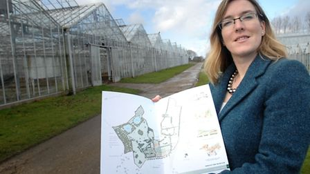 Kate Bunting at the Great Horkesley site