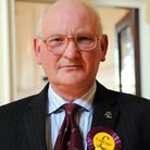 Stuart Agnew at the launch of the UKIP election campaign in Norwich; Photo: Bill Smith; Copy: Shaun