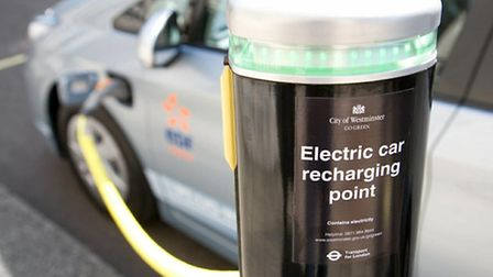 Electric-car-re-charging-po