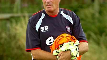 Steve Foley, who has followed ex-Leiston manager Market Morsley to Needham Market as a member of his