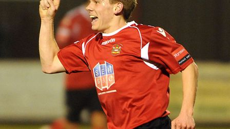 Danny Bloomfield, who has returned to Needham Market to assist with coaching the club's Academy play