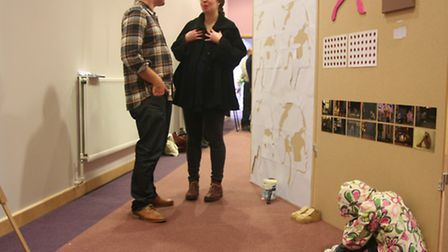 Writtle College Employability Day: Russell Broughton (MA) Art and Design talks to Thea Behrman, Arts