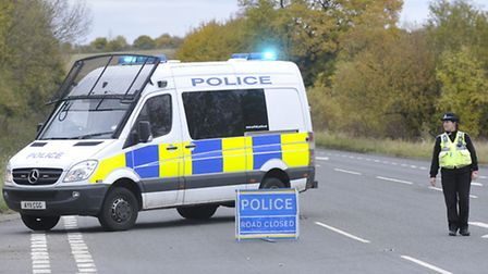 The crash happened on the A1071 at Hadleigh last November