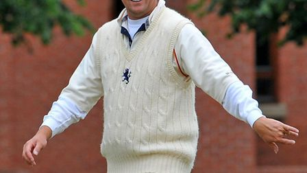 Former Suffolk captain Phil Caley, who has made himself available to play for the county's over-50s