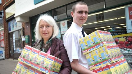 The East of England Cooperative Society are donating 500 chocolate Easter eggs for the Woodbridge Ea