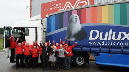 Norbert Dentressangle Logistics Ltd in Stowmarket has offered to supply 10 lorries and drivers for t